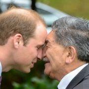 Der Prinz ist eben einer von der sensibleren Sorte. Da gibt's dann eben auch mal ein Freundschafts-Küsschen.