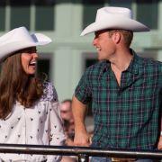 Doch am Ende hat er doch nur Augen für eine: seine Kate!