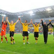 Nach Elfmeter! Dynamo Dresden schlägt RB Leipzig (Foto)