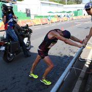 Drama in Rio: Geher kämpft trotz Durchfall, Blut und Zusammenbrüchen (Foto)