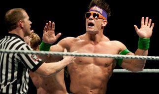 John Cena kämpft gegen AJ Styles. (Foto)