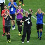 Silber für DFB-Männer: Endspiel-Niederlage im Elfmeterschießen (Foto)