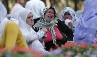 Verzweiflung herrscht nach dem Anschlag in der Türkei. (Foto)