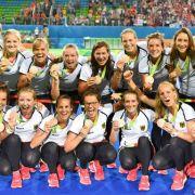 Deutsche Hockey-Mannschaft der Damen: Bronze im Feldhockey