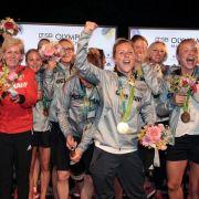 Deutsche Fußball-Damen: Gold im Finale gegen Schweden