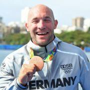 Ronald Rauhe: Bronze im Kajak-Einer über 200m