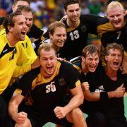 Deutsche Handball-Herren: Bronze im Hallenhandball