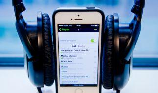 Musik-Streaming-Anbieter Spotify konnte die Tester von Stiftung Warentest nicht in allen Punkten überzeugen. (Foto)
