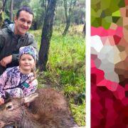 8-Jährige tötet Hirsch und beißt in warmes Herz (Foto)
