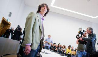 Der Musiklehrer bei einer der Verhandlungen. (Foto)