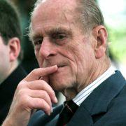 Das muss er wohl von seinem Vater Prinz Philip geerbt haben.