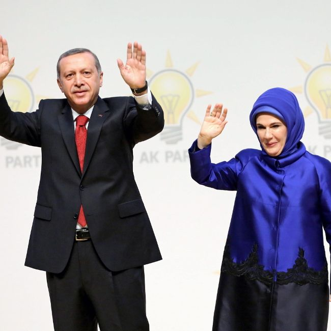 Süchtig nach Luxus! So protzig lebt Frau Erdogan (Foto)