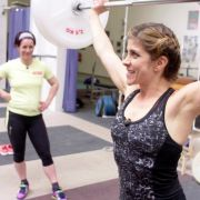 Panagiota Petridou vonUschi Disl besiegt - im Gewichtheben! (Foto)