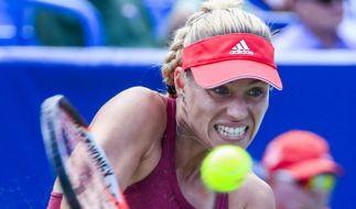 Angelique Kerber muss im ersten Match gegen Polona Hercog antreten. (Foto)