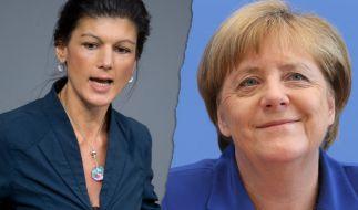 Angela Merkel habe viel Schaden angerichtet, ist sich Linken-Politikerin Sahra Wagenknecht sicher. Eine Alternative gebe es dennoch nicht. (Foto)