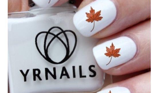 Herbst-Feeling bis in die Fingerspitzen versprechen diese zauberhaften Nagelabziehbilder mit hübschem Laubdesign. Das herbstliche Dekor für die perfekte Maniküre gibt's bei Amazon bereits für 1,50 Euro. (Foto)