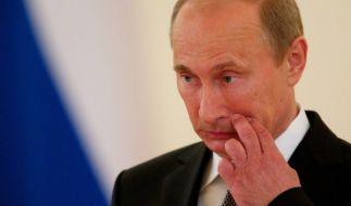 Da hat sich Vladimir Putin aber etwas geleistet. Medienberichten zufolge soll er in einem Supermarkt in den USA gewütet haben. (Foto)