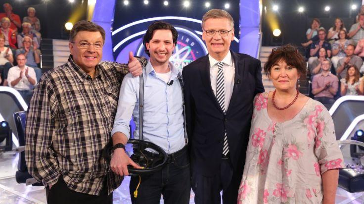 Andrej Garn, Firat Demirhan und Anke Christensen wollen ihr Glück bei Günther Jauch probieren. (Foto)