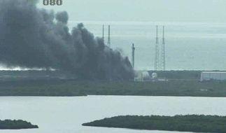 In Cape Canaveral ist eine Rakete explodiert. (Foto)