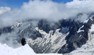 Der Mont Blanc ist der höchste Berg der Alpen. (Foto)