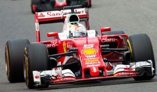 Sebastian Vettel peilt den Heimsieg in Monza an. (Foto)