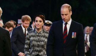 Herzogin Catherine muss ihrem Mann nun Trost spenden. (Foto)