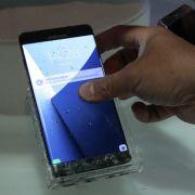 Explodierende Akkus! Samsung ruft Galaxy Note 7 zurück (Foto)