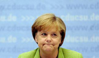 Laut einer Umfrage traut nur eine Minderheit der Deutschen Angela Merkel eine vierte Kanzlerschaft zu. (Foto)