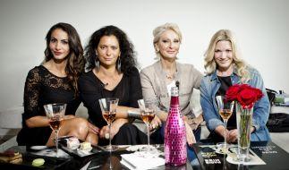Die Kandidatinnen: Janina Youssefian, Sandra Speichert, Desiree Nick, Jessica Kastrop. (Foto)