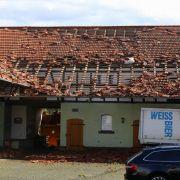 Tornado verwüstet Dorf in Niedersachsen! (Foto)