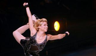 Tanja Szewczenko während der Premiere der Revue Holiday on Ice. (Foto)