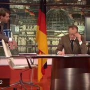 Max Uthoff und Claus von Wagner in Action.
