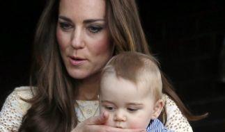 Herzogin Kate hat mal wieder ein Geheimnis ausgeplaudert - dieses Mal über Prinz George. (Foto)