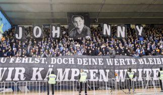 Johnny wurde im Stadion gebührend verabschiedet. Sein Spirit lebt in den Fans weiter. (Foto)
