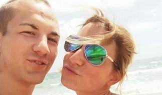 Der deutsche Ringer Frank Stäbler an der Seite seiner Freundin Sandra. (Foto)
