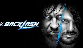 Dean Ambrose (l.) trifft bei WWE Backlash auf AJ Styles. (Foto)