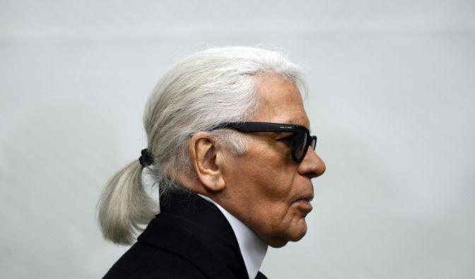 Karl Lagerfeld privat
