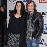Thomas Godoj mit seiner Jennifer 2009 bei einer Veranstaltung.