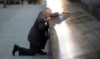 Robert Peraza verlor seinen Sohn Robert David Peraza. Dieser starb am 11. September 2001 im Nordturm des World Trade Centers. (Foto)