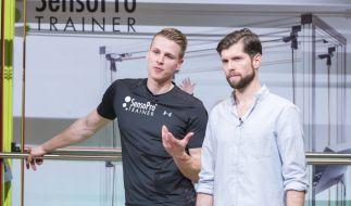 Kasper Schmocker (l.) und Jan Urfer sind Mitbegründer von SensoPro. (Foto)
