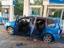Bei einer Explosion des Gastanks an einer Aral-Tankstelle wurde ein VW-Touran zerstört. (Foto)