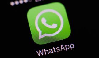 Bei WhatsApp kursieren Kettenbriefe, die vor vermeintlichen Viren warnen. (Foto)