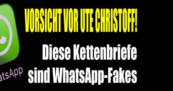 Whatsapp Ute Christoff Virus