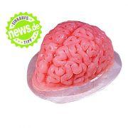 Schaurig-schön und köstlich zugleich: Dieses gruselige Gehirn darf auf keiner Halloweenparty fehlen, besteht es doch aus fruchtigem Pudding, der großen und kleinen Halloweenmonstern gleichermaßen schmeckt.