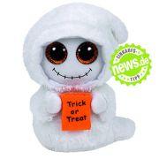 Damit Sie nach all den gruseligen Gadgets keine Angst vor Halloween bekommen, gibt's zum Abschluss dieses knuffige Deko-Gespenst. Na dann: Happy Halloween!
