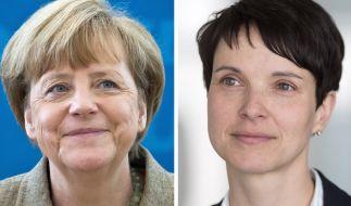 Frauke Petry wirft Angela Merkel Kinderlosigkeit vor. (Foto)