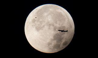 Am 16.09.2016 ist über Deutschland eine Halbschatten-Mondfinsternis beobachtbar. (Foto)