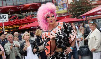 Olivia Jones stellt Strafantrag gegen die AfD. (Foto)