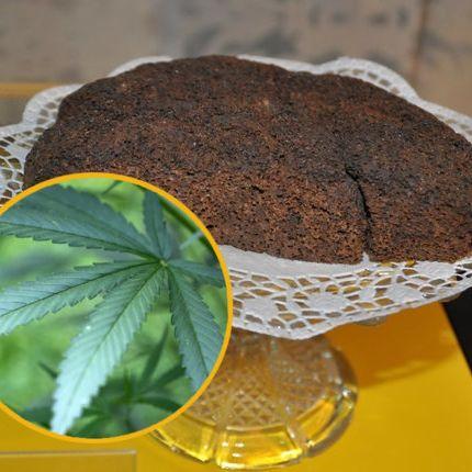 Hanf-Kuchen legt Freundeskreis lahm (Foto)