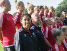 Ungarn gegen Deutschland im Frauen-Fußball